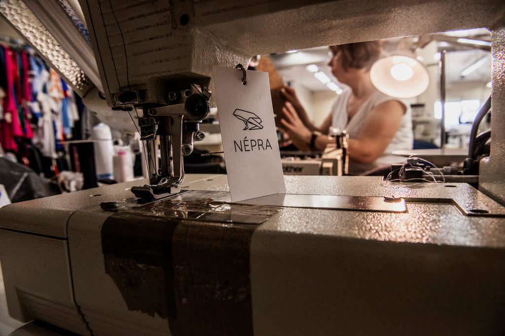 Népra activewear ethically made in Tallinn, Estonia