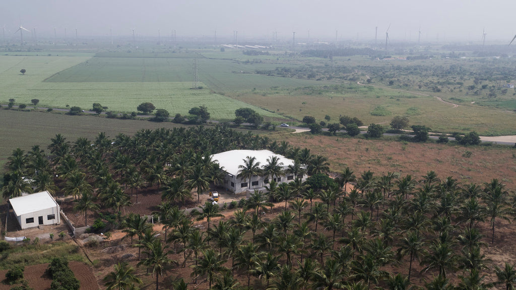 Pure Waste factory in Tamil Nadu, India