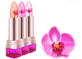 Flower Jelly Moisturizing Lip Balm (Waterproof, Long-Lasting, Changes Color with Temperature)