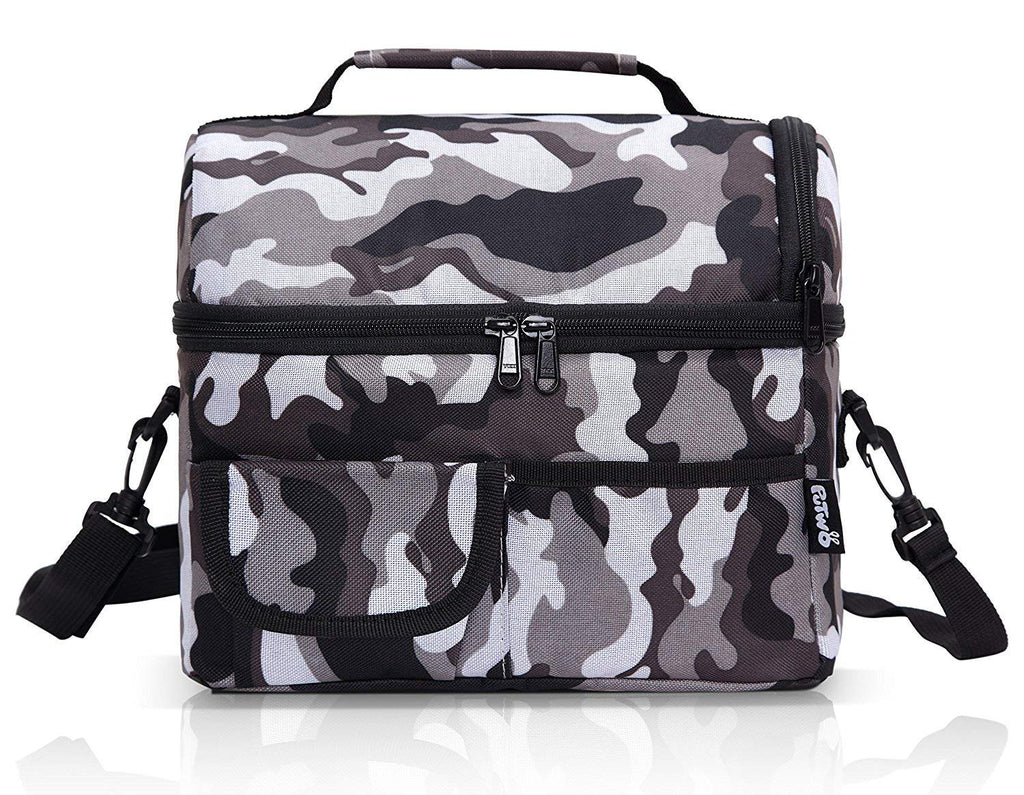 6dc9b8c71a79 PuTwo Insulated Lunch Bag 8L Leakproof Lunch Bag for Adults Lunch Bag for  Kids Women Lunch Boxes Picnic Bags Lunch Cooler Bag Meal Prep Bag Bento Box  ...
