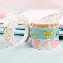 画像をギャラリービューアに読み込む, PuTwo Washi Tape, 4 Rolls Pink Washi Tape, 7.5mm/15mm Washi Tape Set, Decorative Tape, Cute Washi Tape, Decorative Tape, Japanese Washi Tape, Washi Tape for Journal, Decorative Tape for Crafts