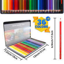 Load image into Gallery viewer, PuTwo Colored Pencils 36 pcs