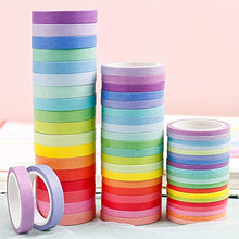 画像をギャラリービューアに読み込む, PuTwo Washi Tape, 60 Rolls Pastel Washi Tape, 3mm/5mm/8mm Thin Washi Tape Set, Decorative Tape, Cute Washi Tape, Washi Tapes, Japanese Washi Tape, Washi Tape for Journal, Decorative Tape for Crafts