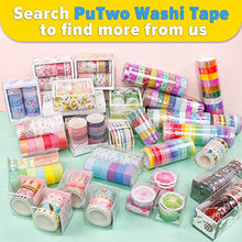Load image into Gallery viewer, PuTwo Washi Tape, 10 Rolls Metallic Washi Tape, 15mm Glitter Washi Tape, Decorative Tape, Cute Washi Tape, Vintage Washi Tape, Japanese Washi Tape, Washi Tape for Journal, Decorative Tape for Crafts
