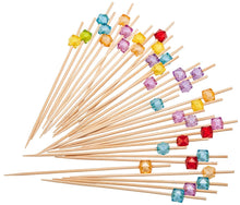 Laden Sie das Bild in den Galerie-Viewer, PuTwo Party Frilled Toothpicks, Sandwich, Cocktail, Appetizer Picks Party Supplies 100 Count - Multiple Color - PuTwo  - 1