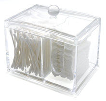 Load image into Gallery viewer, PuTwo Cotton Pads Holder Acrylic Makeup Organiser Cotton Swab Holder - PuTwo  - 3