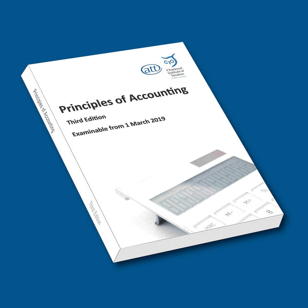 ACC03 - Principles of Accounting THIRD Edition - AVAILABLE EARLY NOVEMBER 2018