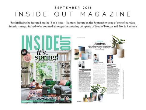 Inside Out Magazine September 2016