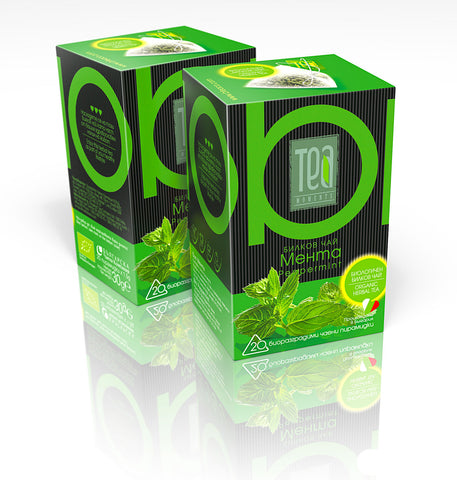 Certified Organic Peppermint Tea Bags | 30g - Kuker Shop