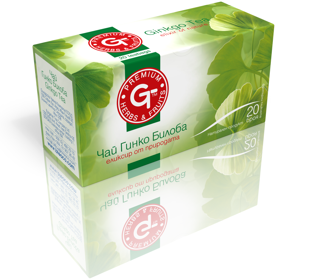 Ginkgo Biloba Tea Mix 30g | GT Series 20 Bags - Kuker Shop