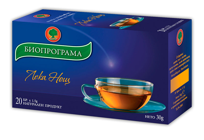 Good Night Tea 20 Bags Relaxing Evening Herbal Tea 30g