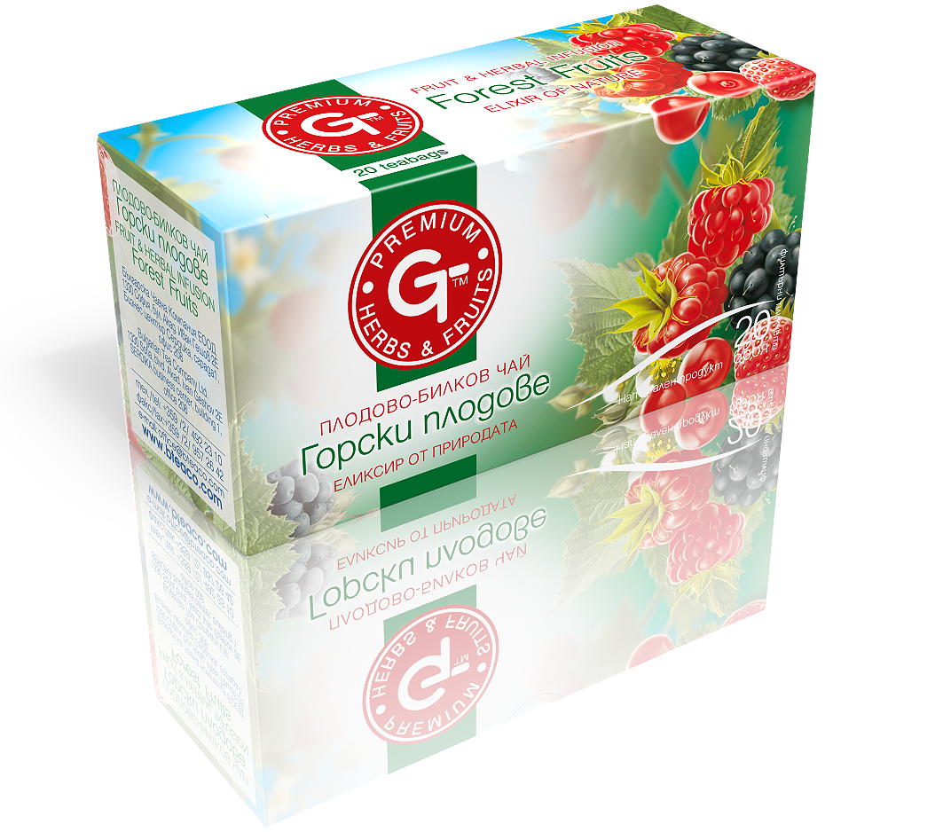 Forest Fruit Tea Mix 20 Bags | GT Series 30g - Kuker Shop