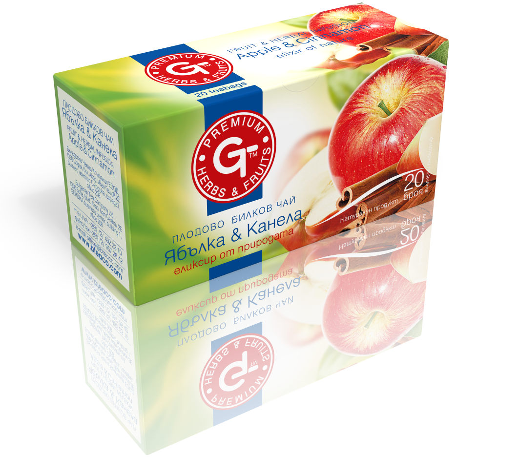 Apple Cinnamon Tea Mix 20 Bags | GT Series 30g - Kuker Shop