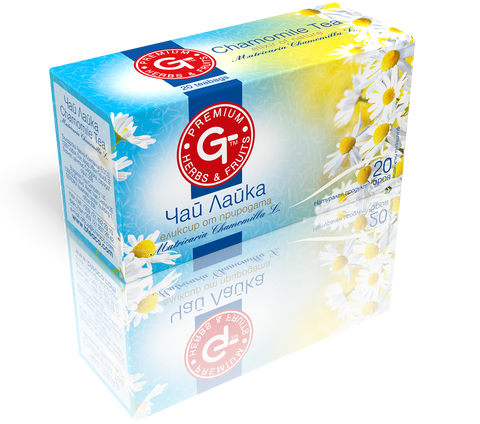Chamomile Tea 20 Bags | GT Series 30g - Kuker Shop