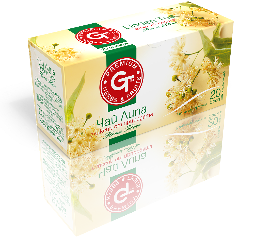 Linden Tea 20 Bags | 30g GT Series - Kuker Shop