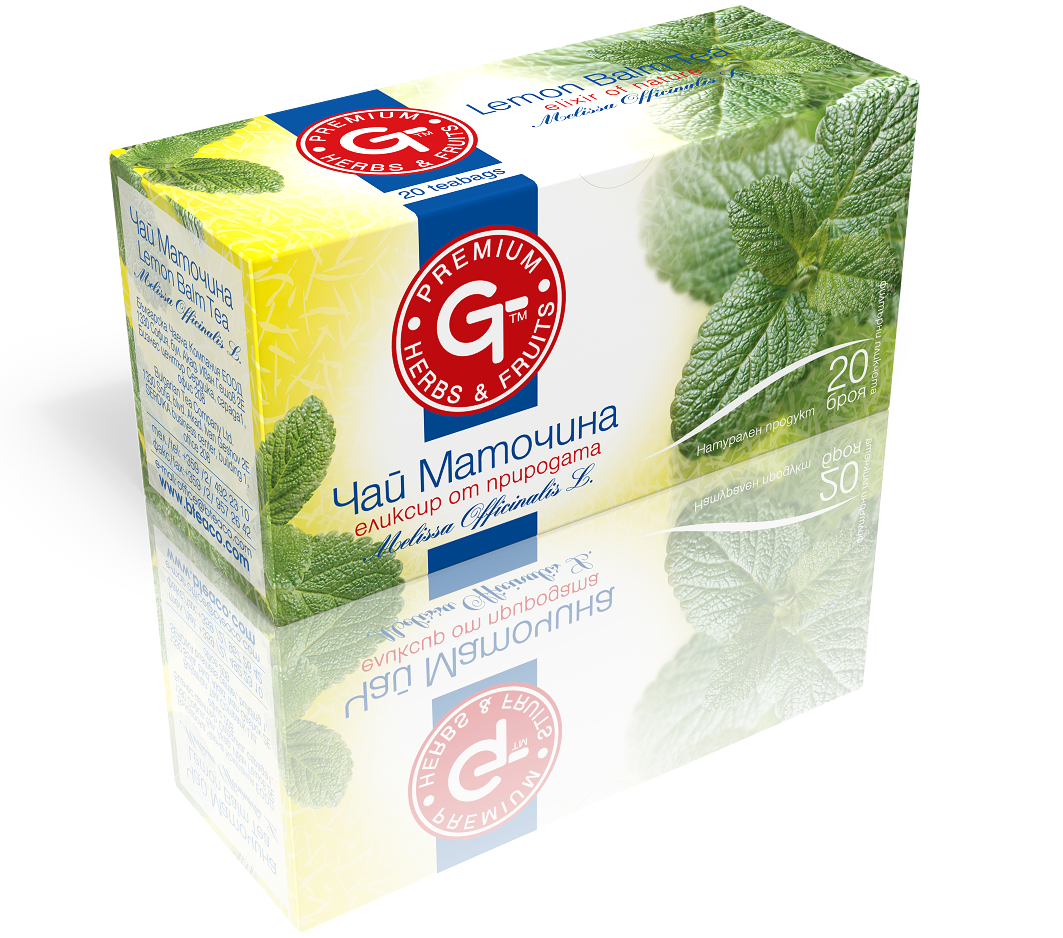 Lemon Balm Tea 20 Bags | GT Series 30g - Kuker Shop