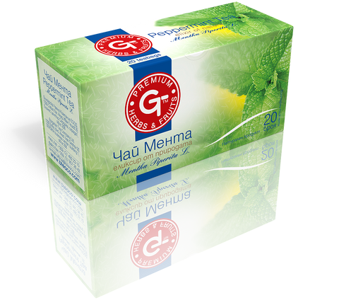 Peppermint Tea 20 Bags | GT Series 30g - Kuker Shop