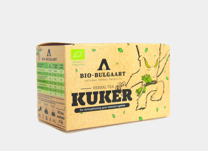 Detox Organic Tea 20 Bags | Kuker Tea Herbal Mix