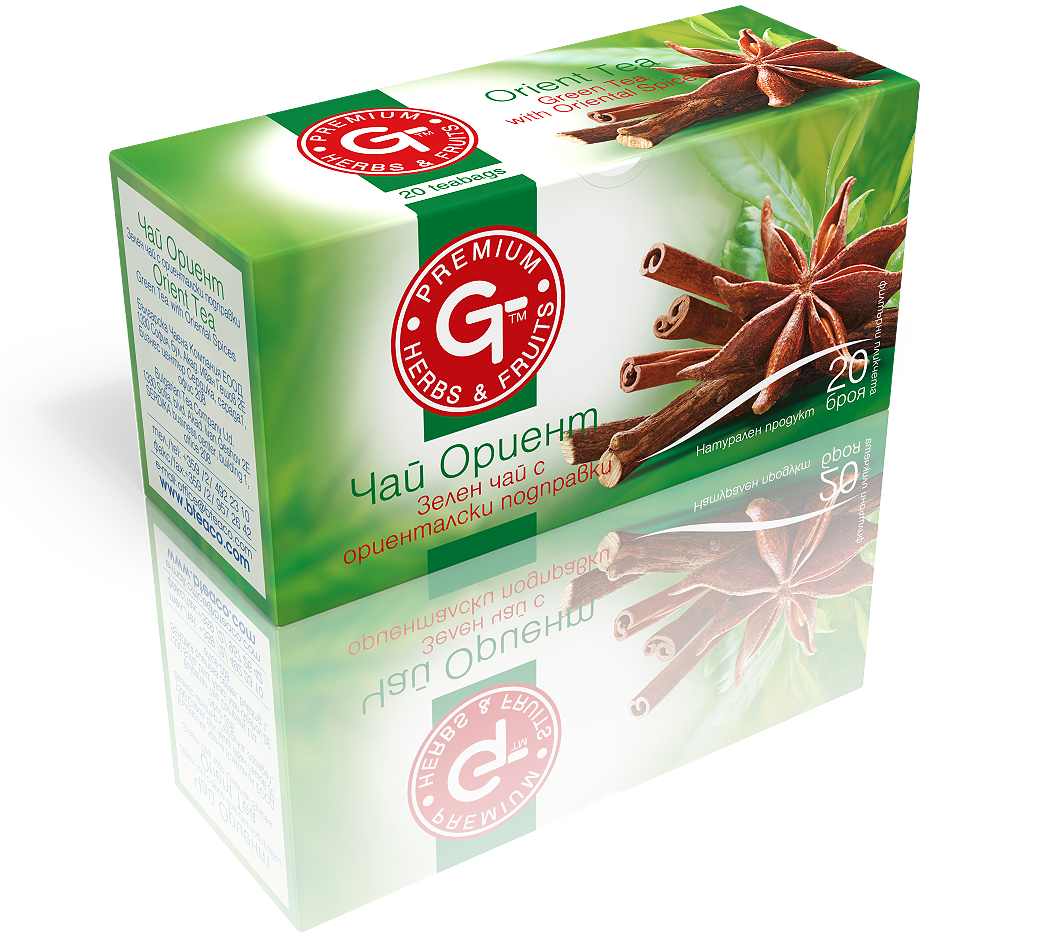 Oriental Tea 20 Bags | GT Series 30g - Kuker Shop