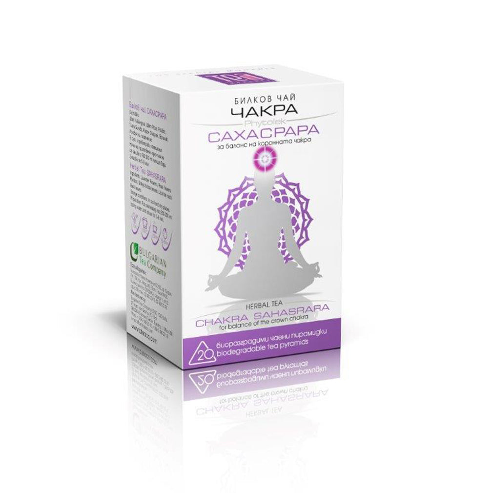 Crown Chakra Tea Sahasrara 20 Bags 30g - Kuker Shop