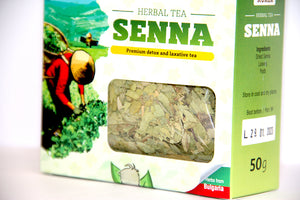 (6 Pack) Senna Tea Loose Leaf 50g | Laxative Tea Kuker Brand