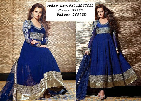 e674cbe7a7 Online Dress Collection Shutton Full Gorgeous Embroidery - Three Piece ODC5  @ 26 Taka Coupon