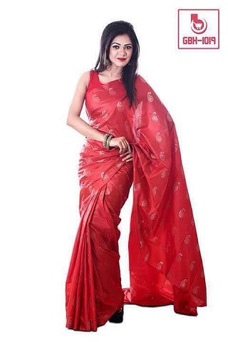 Clothing Rack Brand Ashika Benarasi Silk Sarees CR78 @ 22 Taka Coupon