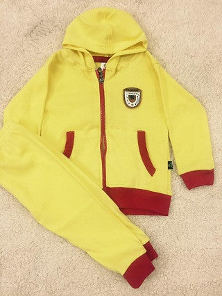 Yellow Kids Winter Jacket Set MF24 @ 3 Taka Coupon