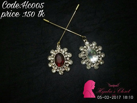 Hijabi's Closet Dangle Pin HC1 @ 5 Taka Coupon