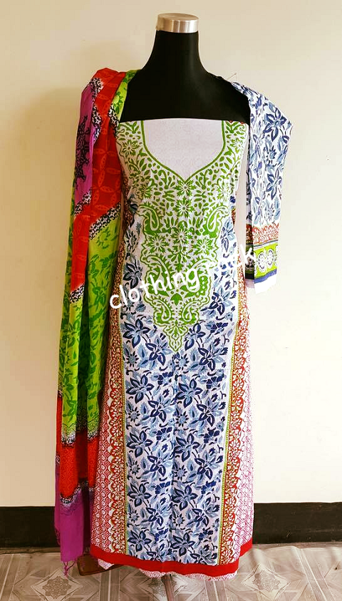 b41e62c6ea Clothing Rack Cotton Salwar Kamiz CR51 @ 8 taka coupon
