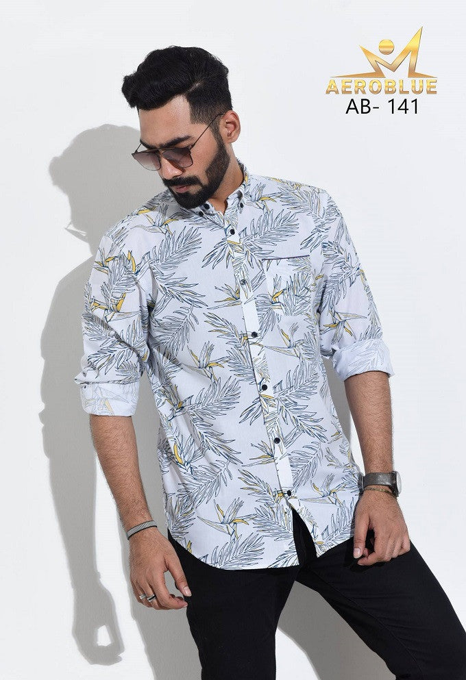 Aeroblue Eid Collection Gents Shirt A20 @ 10 Taka Coupon