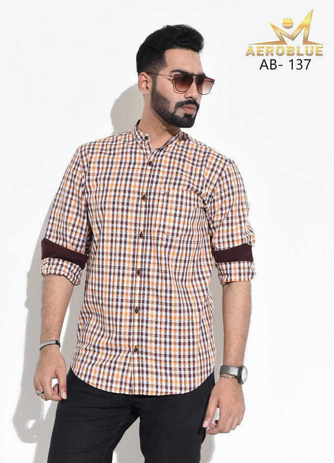Aeroblue Eid Collection Gents Shirt A18 @ 10 Taka Coupon
