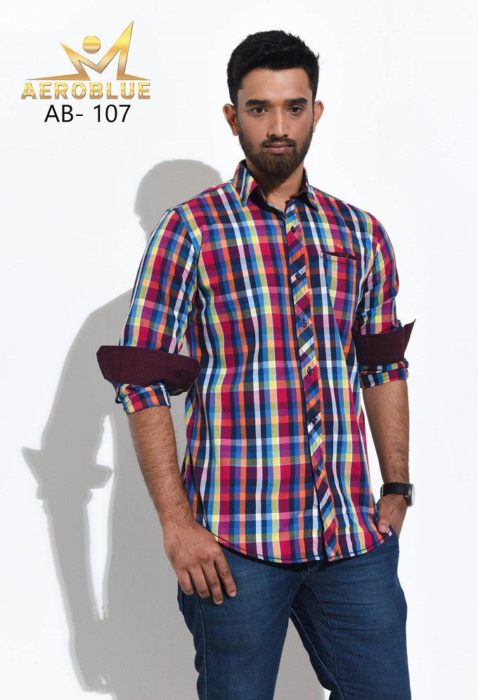 Aeroblue Eid Collection Gents Shirt A22 @ 10 Taka Coupon