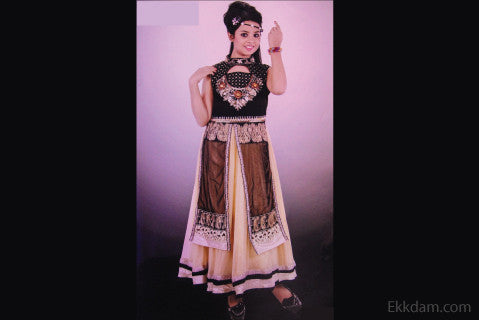 Gown frock (INDIAN) Design-1601 @ 50 Taka Coupon