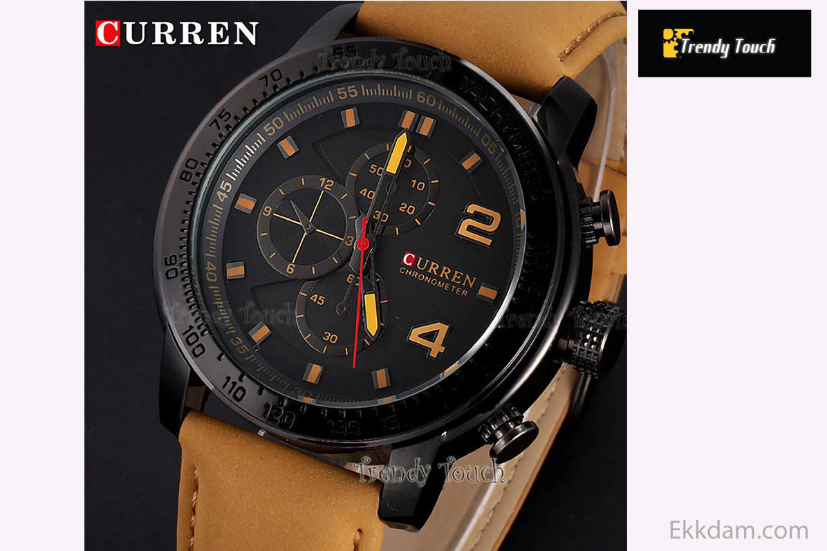 Curren men's wrist Watch!!! @ 33 Taka Coupon