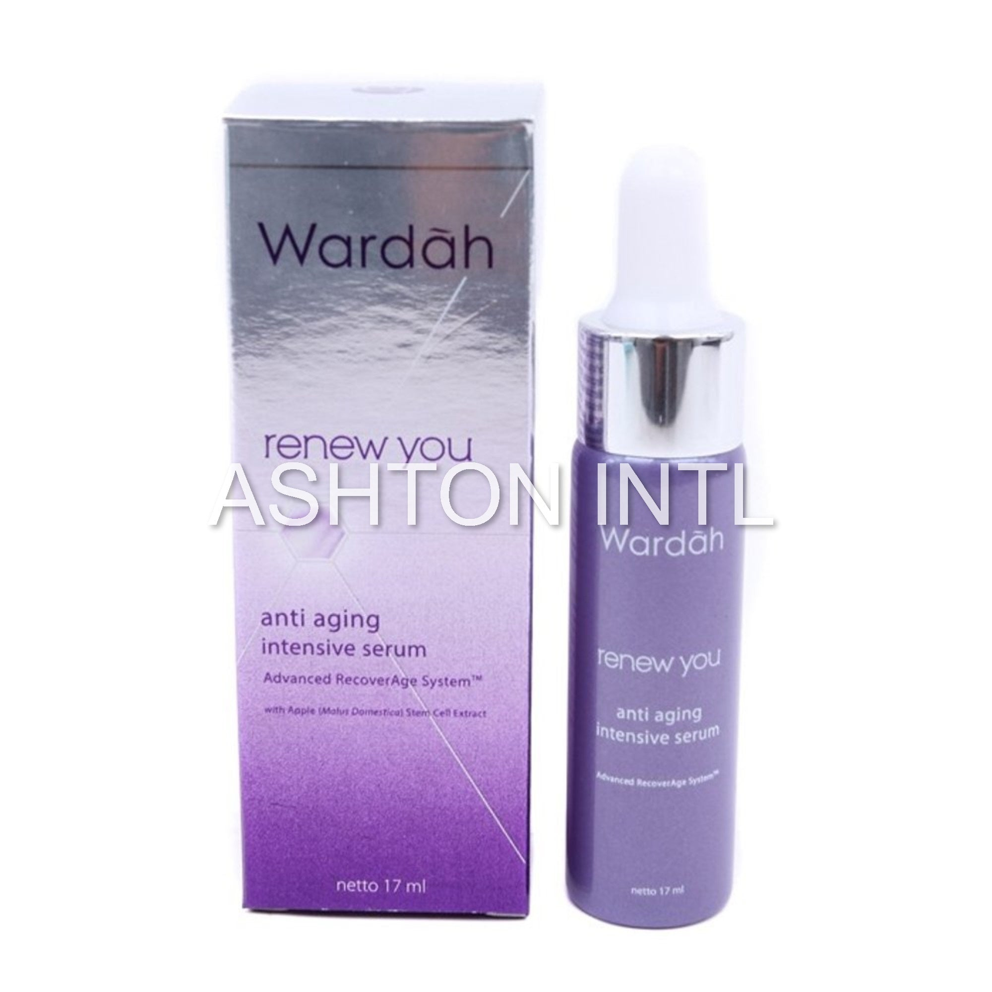 Wardah Renew You Anti Aging Intensive Serum with Apple Stem Cell Extract 17ml