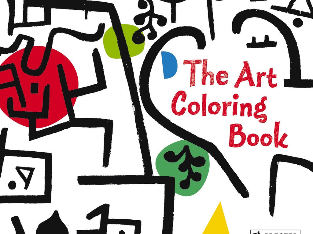 The Art Colouring Book