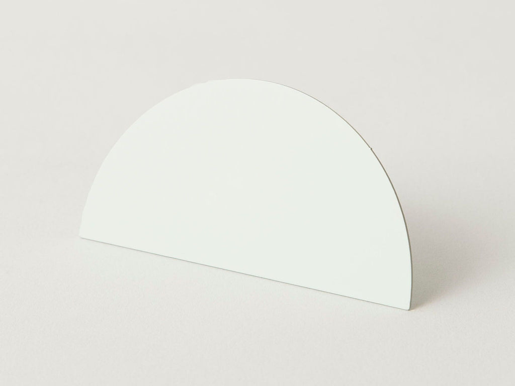 Geometric photo clip - white