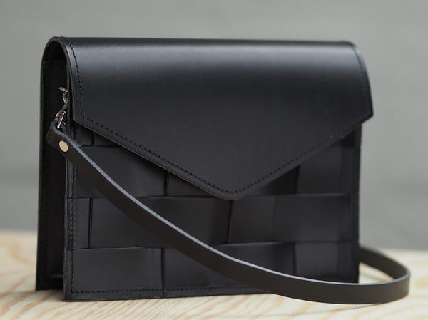 Näver Mini Shoulder Bag - Black