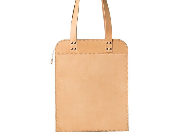 Näver Big Shoulder Bag - Nature Leather