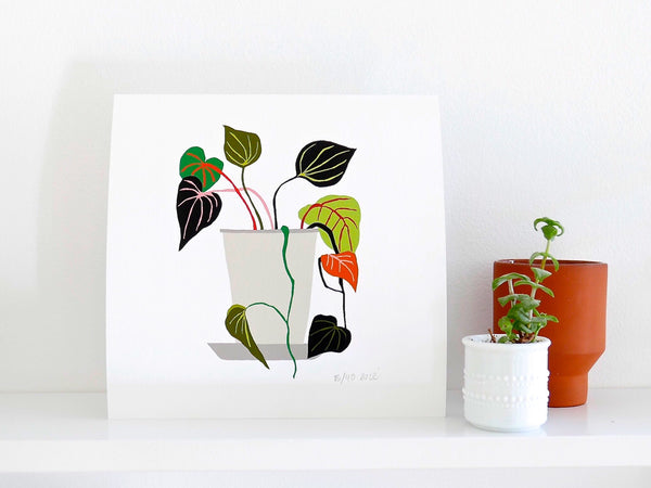 Anna's Kitchen Vine Giclée Print Limited Edition