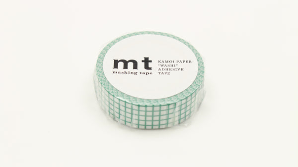 Masking Tape Grid - Emerald