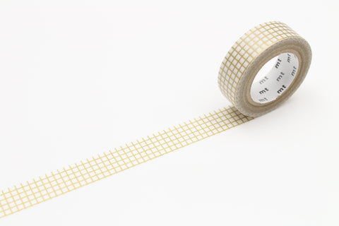 Masking Tape Grid - Gold
