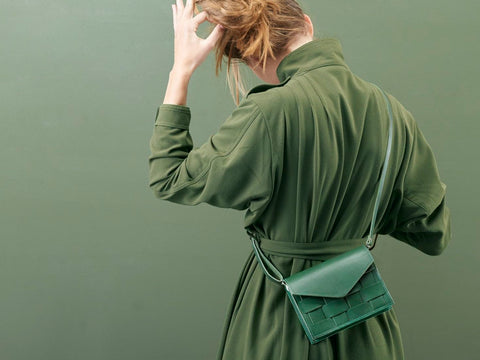 Näver Mini Shoulder Bag - Green