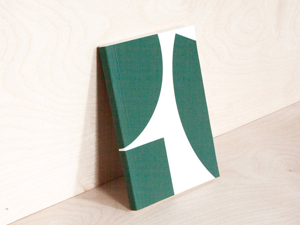 A5 Layflat Weekly Planner - Blocks print in Green | Limited Edition