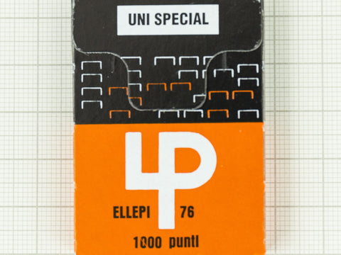 Ellepi Staples 1000 punti refill for the Klizia 97 Stapler