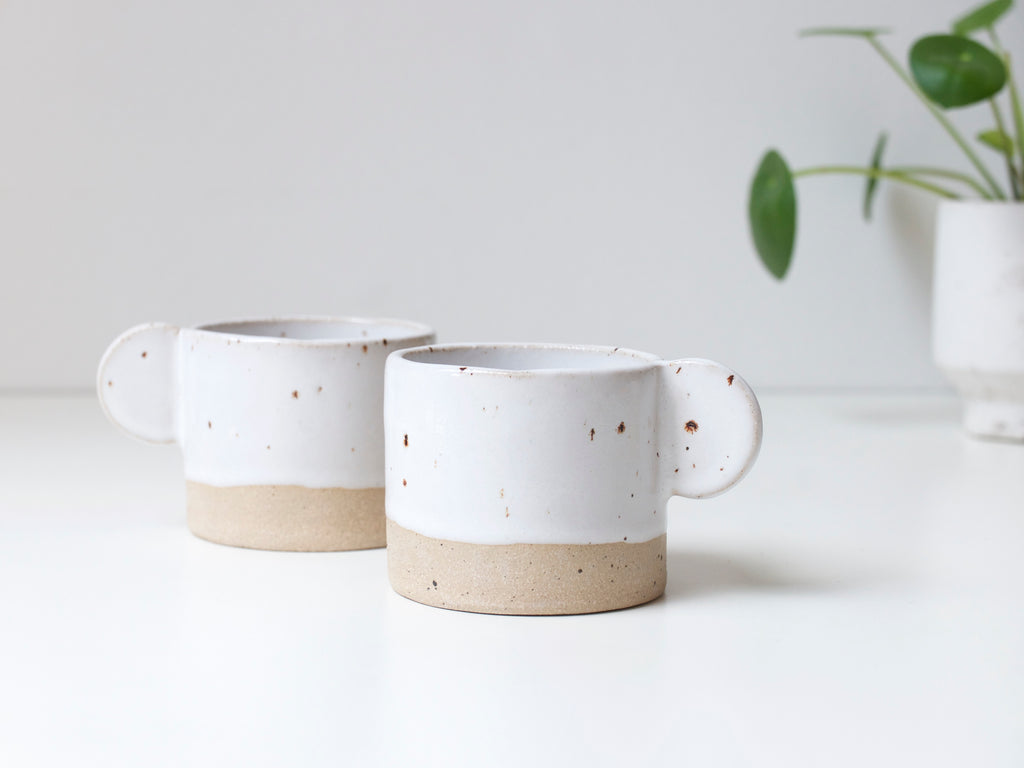 Expresso Coffee cup - Cool White