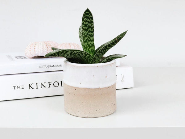 Ceramic Planter White
