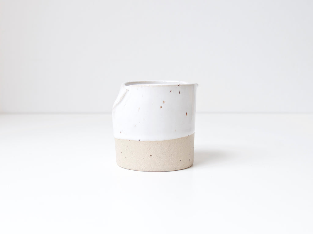 Mini Milk Jug - Cool White