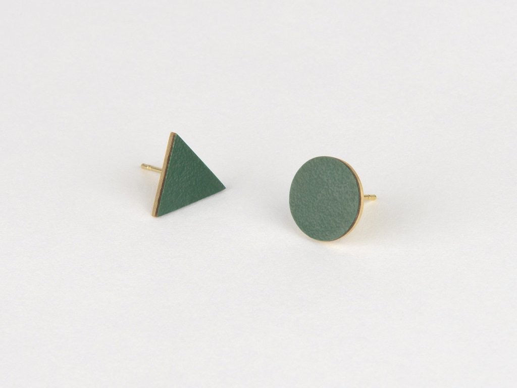 Mix Match Earrings - Forest